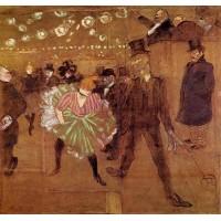 La Goulue Dancing with Valentin le Desosse
