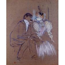 Lucien Guitry and Granne Granier