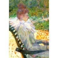 Madame E Tapie de Celeyran in a Garden