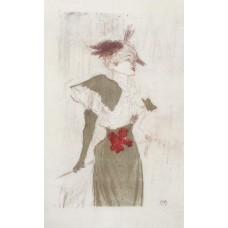 Mademoiselle Marcelle Lender Standing