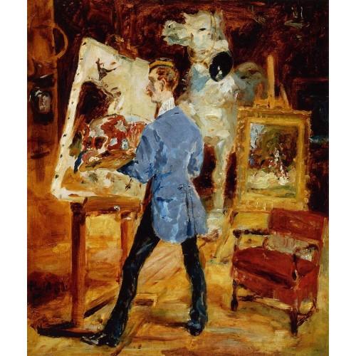 Princeteau in His Studio 1