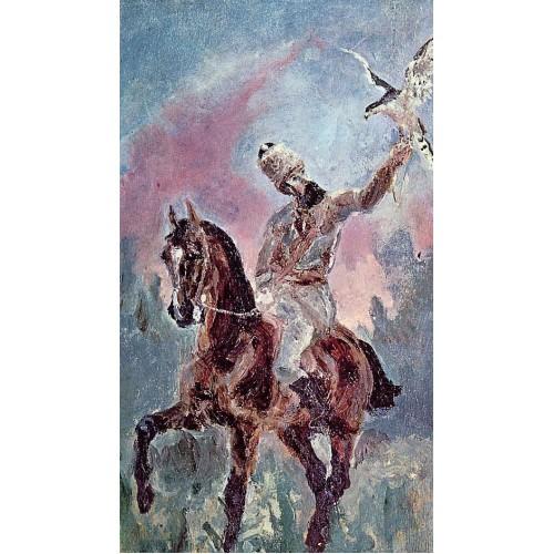 The Falconer Comte Alphonse de Toulouse Lautrec