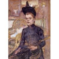 Woman in a Black Hat Berthe la Sourde