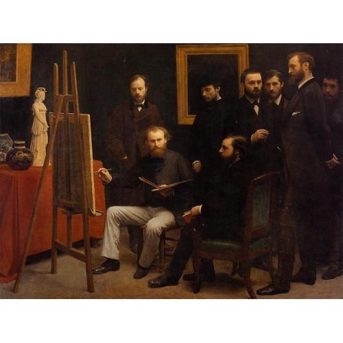 A Studio on the Batignolles