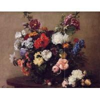 Bouquet of Diverse Flowers