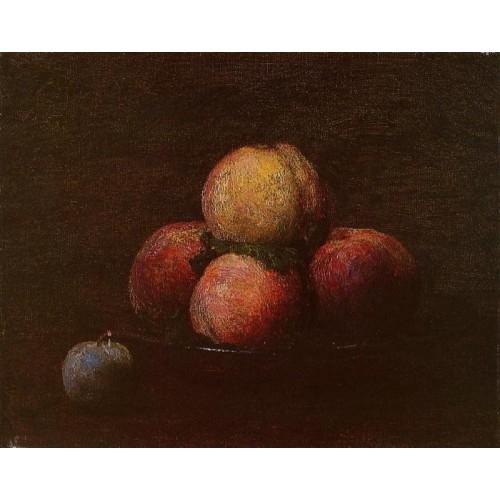 Peaches and a Plum