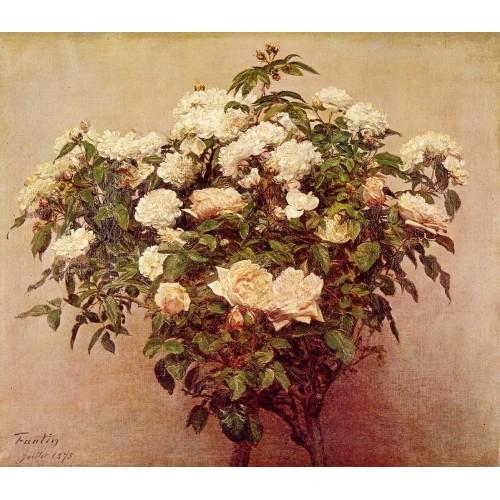 Rose Trees White Roses