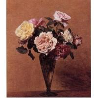 Roses in a Vase 3