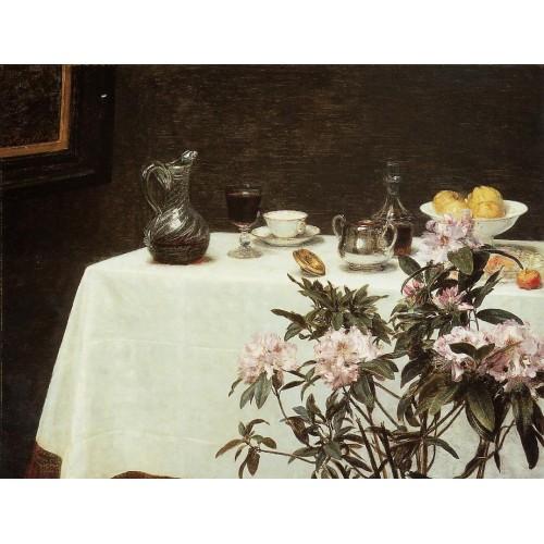 Still Life Corner of a Table