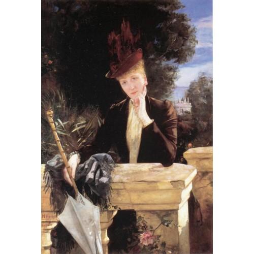 A portrait of Marie Clotilde de Faret Legrand