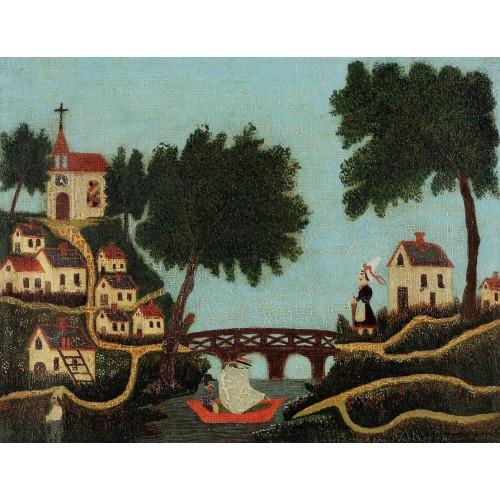Landscape with Bridge