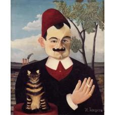 Portrait of Mr X (Pierre Loti)