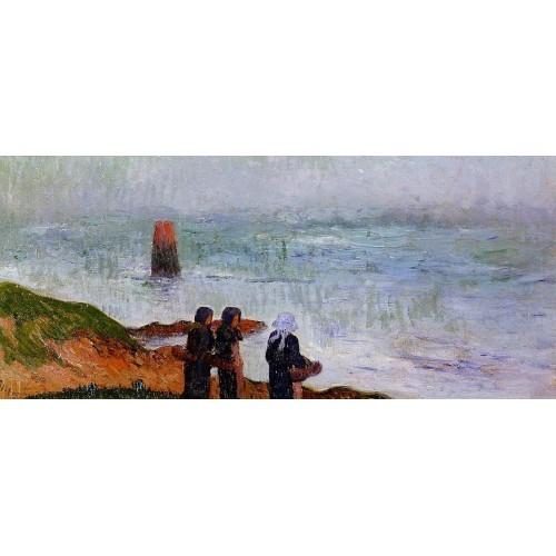 Breton Women by the Sea