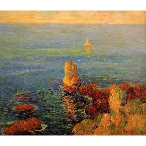 Calm Sea at L'Ile de Groux