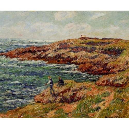 Fishermen on the Breton Coast