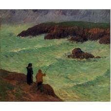 The Cliffs near the Sea