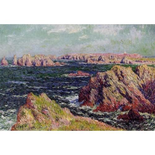 The Cliffs of Belle Ile