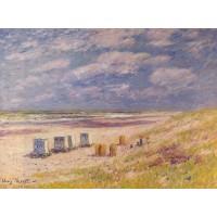 The Egmond Beach Holland