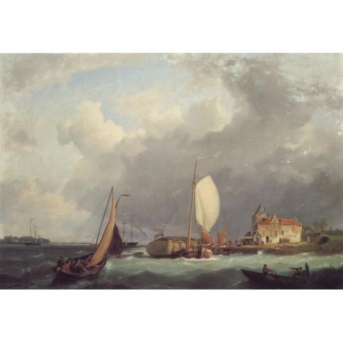 Shipping off the Dutch Coast 1