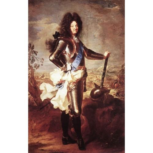 Portrait of Louis XIV 1