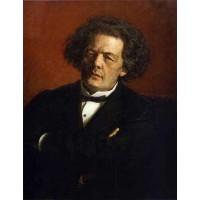 Portrait of the Composer Anton Rubinstein 1