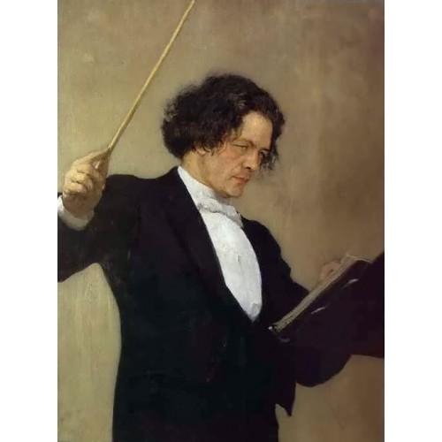 Portrait of the Composer Anton Rubinstein 2