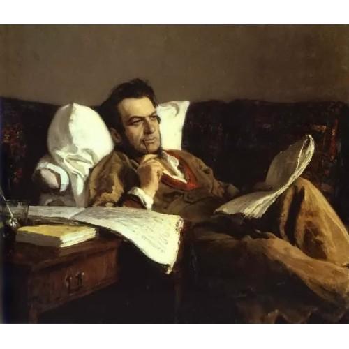 Portrait of the Composer Mikhail Glinka