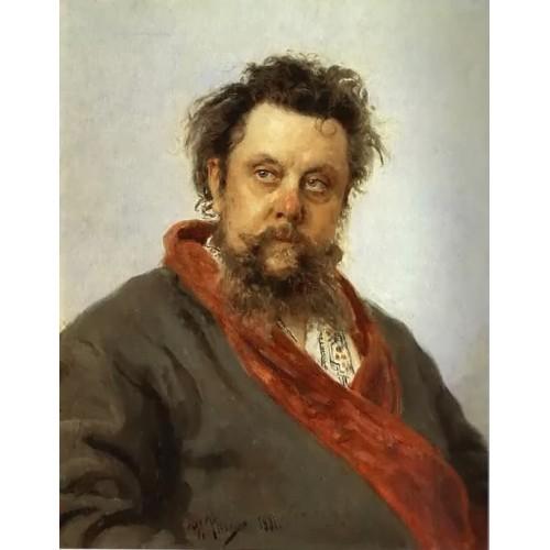 Portrait of the Composer Modest Mussorgsky
