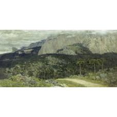 A gray day mountains crimea 1886