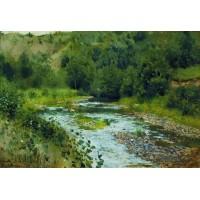 A river 1888