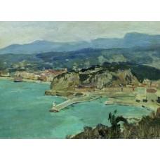 At the lake como italy 1894