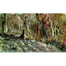 Autumn forest 1886
