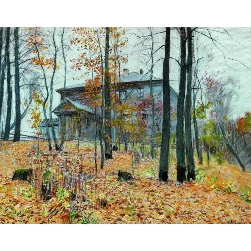 Autumn the manor 1894