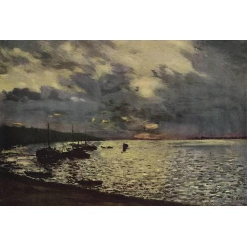Dull day at volga 1888