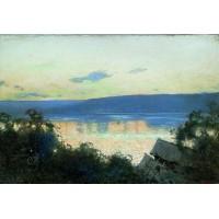 Evening at volga 1888