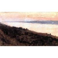 Evening golden plyos 1889 1