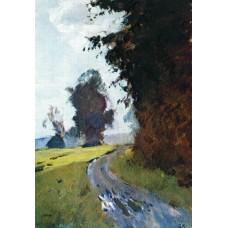 Evening path 1882