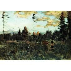 Felling firewood 1898
