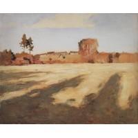 Field after harvest 1897