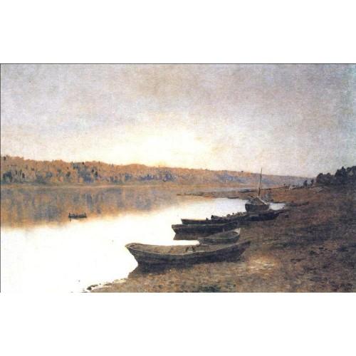 On the river volga 1888