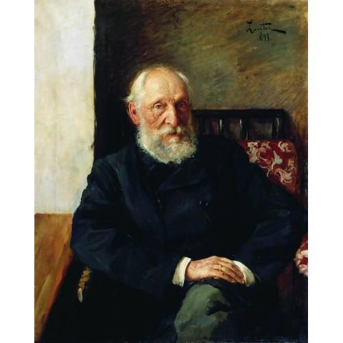 Portrait of nikolay panafidin 1891