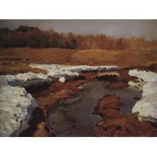 Springtime the last snow 1895 1
