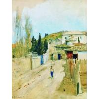 Street in yalta 1886
