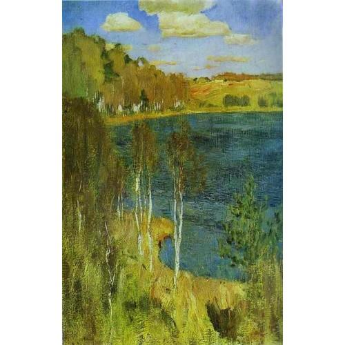 The lake 1898