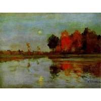 The twilight moon 1898