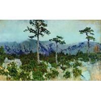 Three pines 1886
