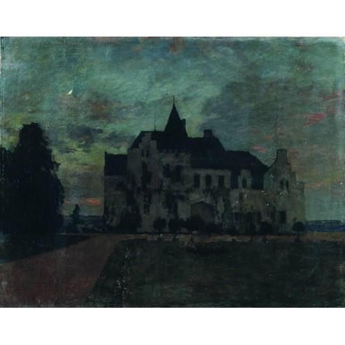 Twilight a castle 1898