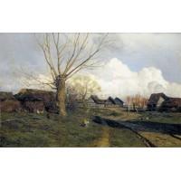 Village savvinskaya near zvenigorod 1884