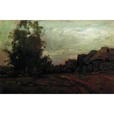 Village twilight 1897
