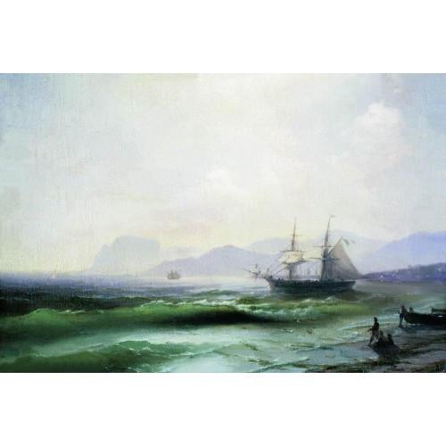 Agitated sea 1877